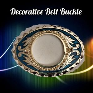 Adorable Decorative Belt Buckle approx. 2.75""